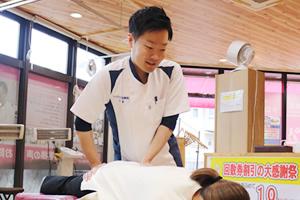腰痛に対する施術方法